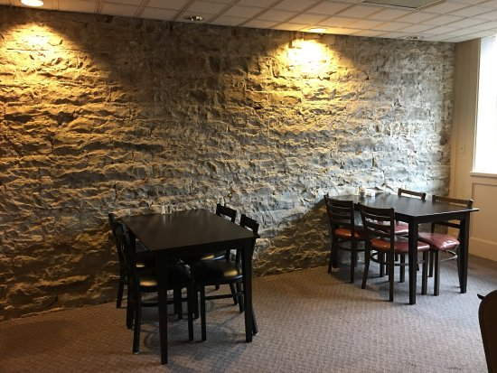 Somerset, PA: Downstairs room can host up to 30 guests! Reserve your party today, call 814-444-6982