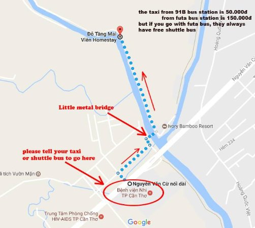 Please save this map for direction to our Homestay Picture of Do