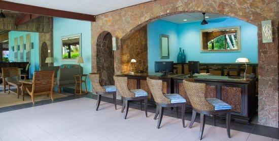 Paradise Sun Seychelles Lobby