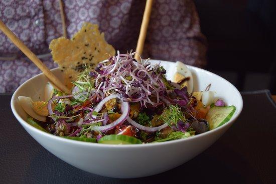 Signe Jeanne : salade végétarienne