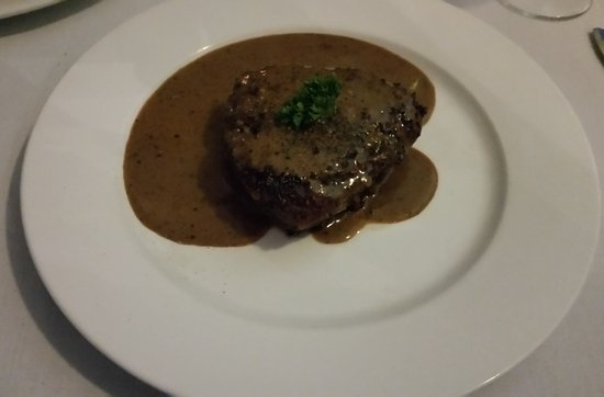Balgowlah, Australia: Pepper steak