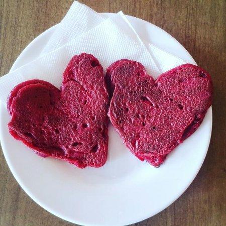 Gulu, Uganda: Red Velvet pancakes!