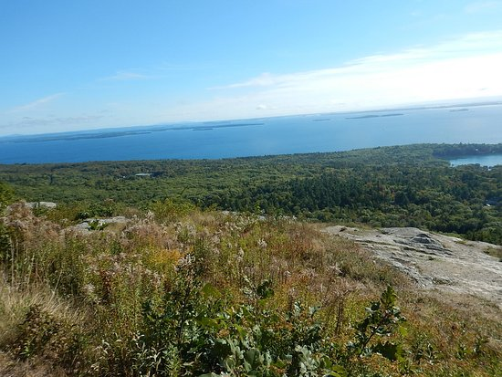 Camden, ME: View over the entire bay