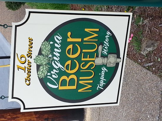 Virginia Beer Museum: Beautiful little museum