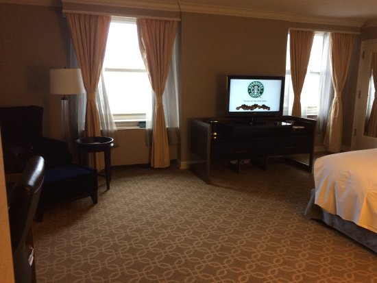 Hilton Milwaukee City Center: A beautifully restored classic with just the right mix of modern convenience. Every public area