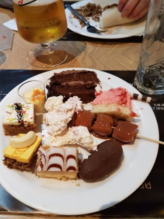 Cosmo Sheffield: My selection from the dessert section!
