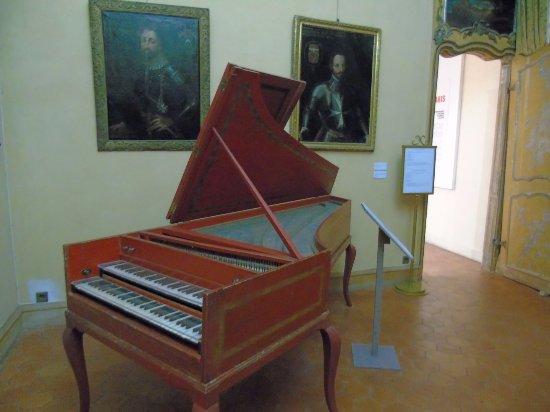 Palais Lascaris: Piano à Queue