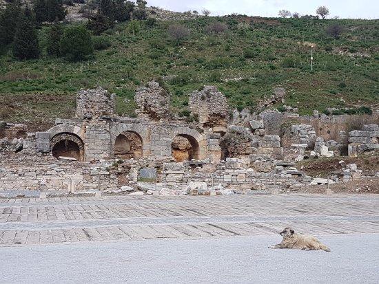 Baths of Varius: ซากโรงอาบน้ำที่แบ่งออกเป็น 3 ส่วนค่ะ