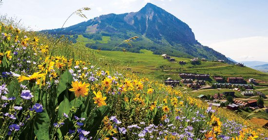 Crested Butte, Kolorado: Summer Time at CBMR