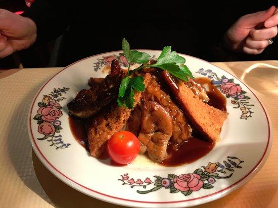Le Pfifferbriader: Foie gras con chucrut