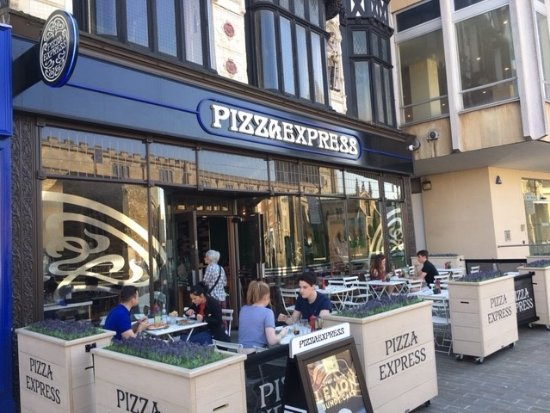 Pizza Express Peterborough 8 Cathedral Sq Updated 2020
