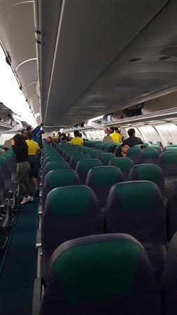 Cebu Pacific Air Cabin Of The Airbus A330