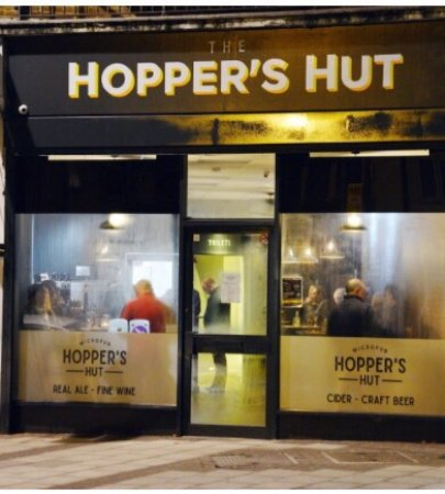 Sidcup, UK: The Hopper's Hut Micropub