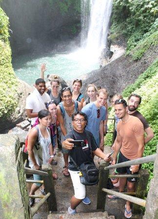 Noosa Bali Tours : 7 water fall Tour with Derar group
