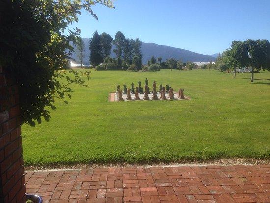 Te Anau Lodge: uitzicht vanuit de lodge