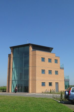 Brackley, UK: Cafe and control tower