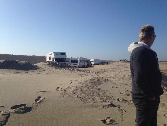 Scharendijke, Belanda: Camperplaats De Strandloper en Noordzeestrand. Superlokatie met zeer vriendelijke personeel!