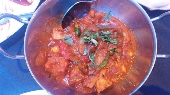 Last Monsoon: Chicken Jal Frezie - spicy and bitey.
