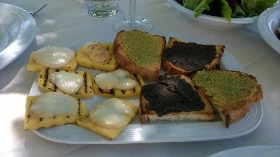 Montecarotto, Itália: crostini