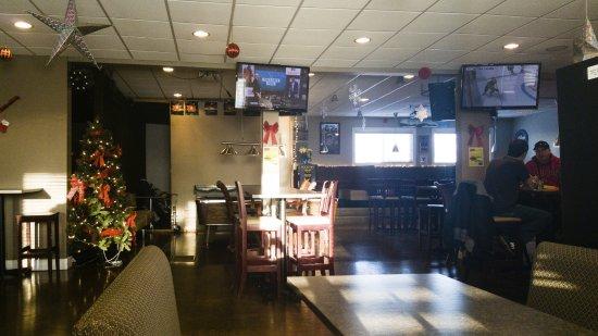 TB's Bar & Grill, Watrous, Saskatchewan, as it looked in December, 2016.