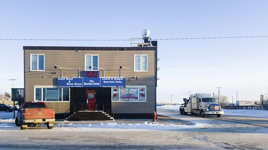 TB's Bar & Grill, Watrous, Saskatchewan on a December afternoon