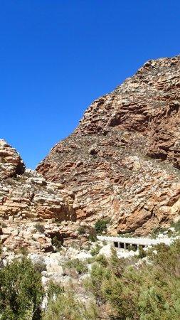 De Rust, แอฟริกาใต้: Stunning rock striations