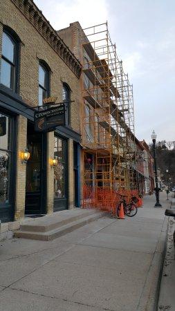 Lanesboro, Миннесота: under facelift construction
