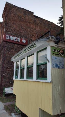Lanesboro, Миннесота: cool diner wagon next door