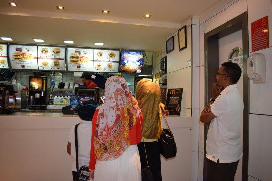 McDonald's Naama Bay: Checking the Menu