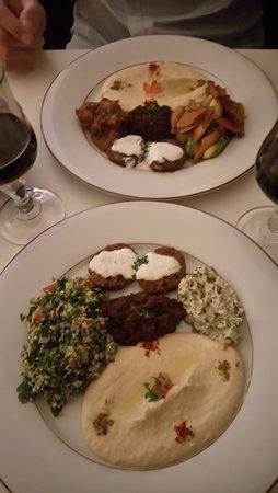 Entr e partager picture of restaurant alyssaar syrien for 9 rue du jardin des plantes 69001 lyon