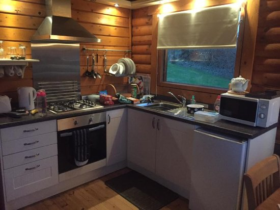 Bliss in the Sticks: Kitchen area
