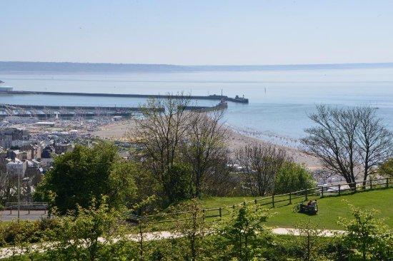 Vue sur la plage du havre picture of les jardins suspendus le havre tripadvisor - Les jardins suspendus le havre ...