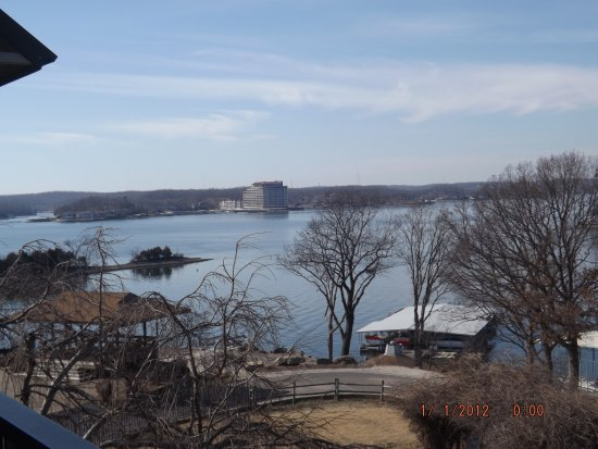 Lake Ozark, MO: From our balcony