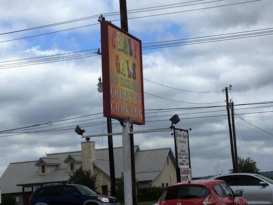 Granite Shoals, เท็กซัส: sign
