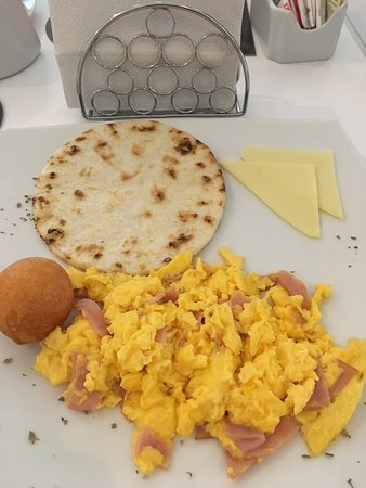 Good value, hearty breakfast, great location.