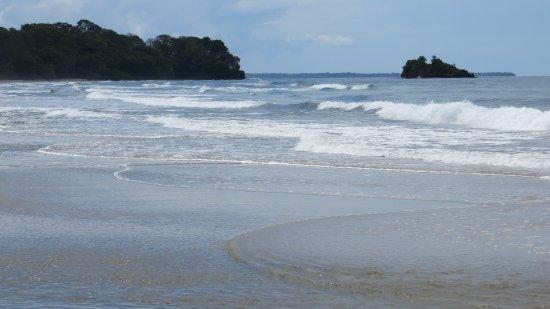 Cocles beach near hotel
