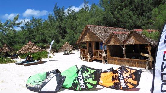 Antsiranana (Diego Suarez), Madagaskar: Notre centre de Kitesurf Baie de Sakalava