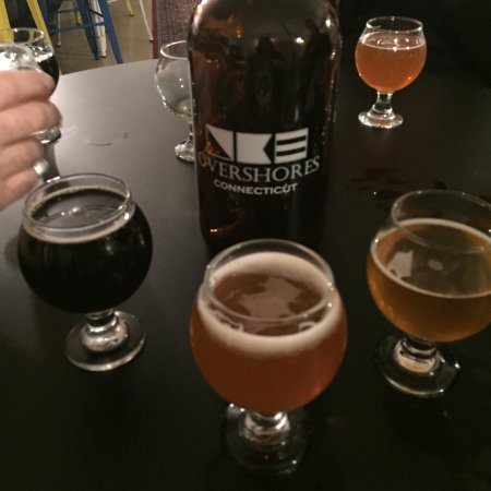 Overshores Brewing: Beer tasting