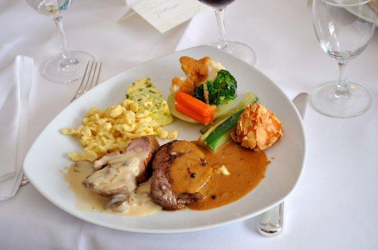 Бад-Беллинген, Германия: The main course
