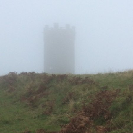 Pontypool, UK: A ghostly shot taken on a cold winters day.