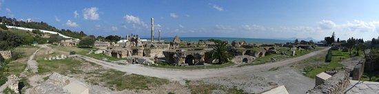 Pupput Roman Site: vue d ensemble