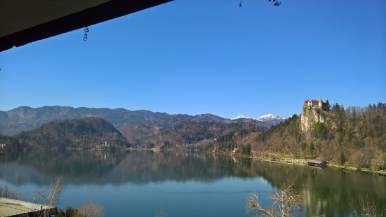 Park Hotel Bled: 5th floor lake view room