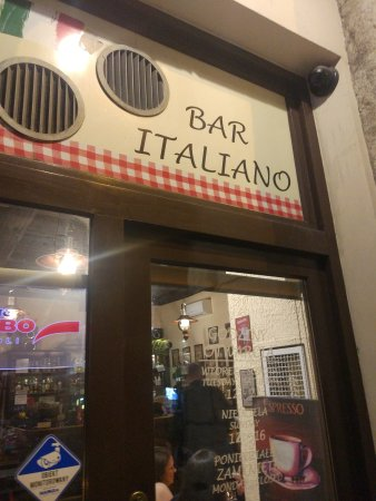 Bar Italiano - Pizzeria : Devanture