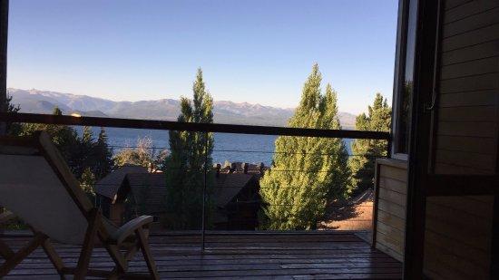 Design Suites Bariloche: Vista desde la habitación en módulo 3