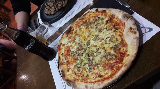 Pizzeria Capricciosa: Comida