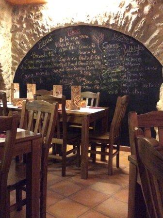 Pizzeria La Roda Groga: Keuze genoeg