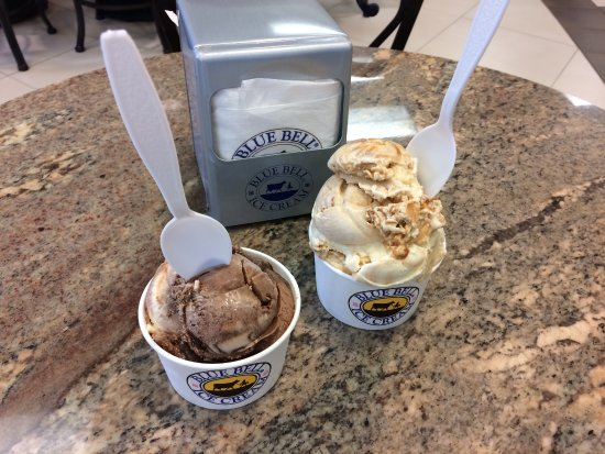 Blue Bell Creameries: Blue Bell Ice Cream at Visitor's Center