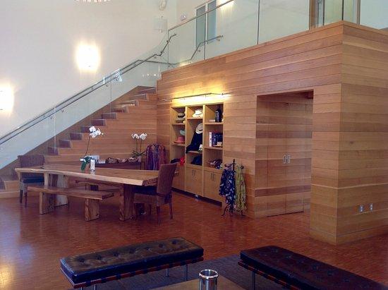 Напа-Вэлли, Калифорния: The tasting room.