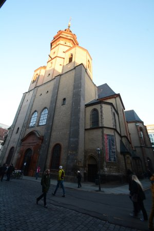 Nikolaikirche: Exterior view of St. Nicholas Church