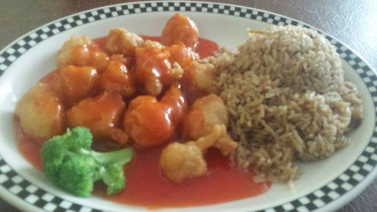 Mauldin, SC: Sweet n sour chicken!!